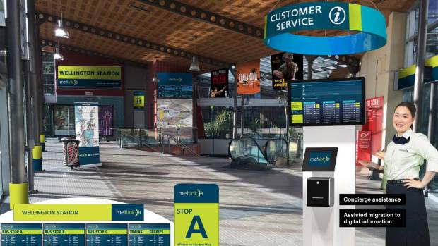 A concept drawing of how Wellington's central city bus interchange could look after it has receives a makeover from ...