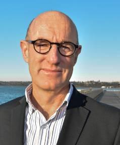 North Shore councillor Chris Darby, Devonport Wharf, Devonport, Auckland.