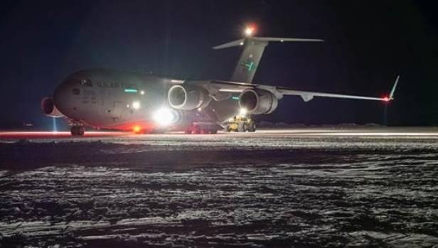 Winter flights into Antarctica to support the rebuilding of the United States' McMurdo Station contribute to the $125 ...