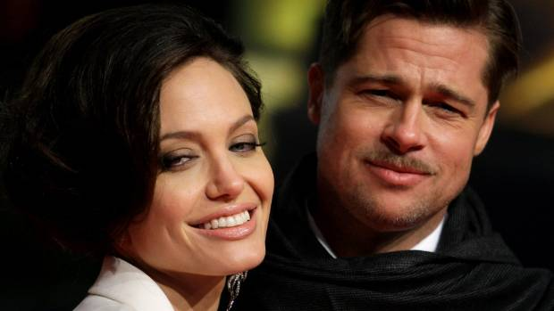 Brad Pitt and his partner Angelina Jolie in 2009.