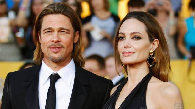 Brad Pitt and Angelina Jolie in 2012.