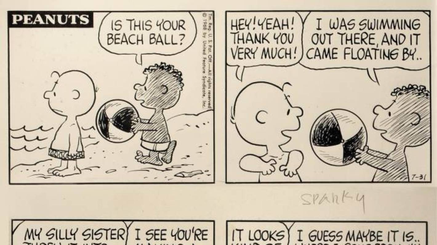 Why Charles M Schulz gave Peanuts a black character in 1968 | Stuff ...