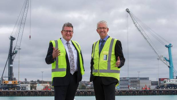 PrimePort chairman Roger Gower and chief executive Phil Melhopt.