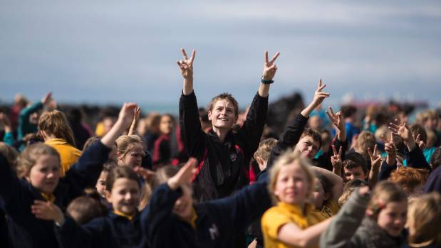 Children from five Christchurch schools have been learning about character to promote wellbeing.