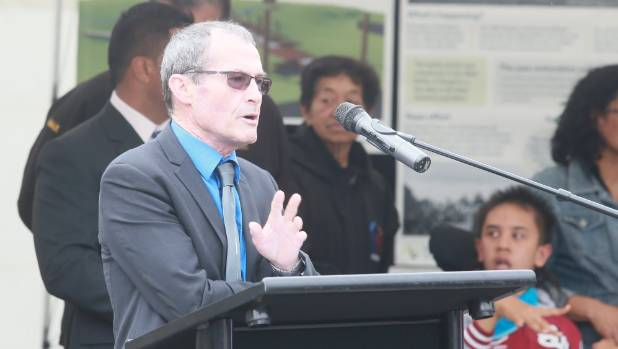 NZTA planning and investment Hamilton manager Dennis Crequer at a ceremony to unveil the Rangiriri Pa restoration.
