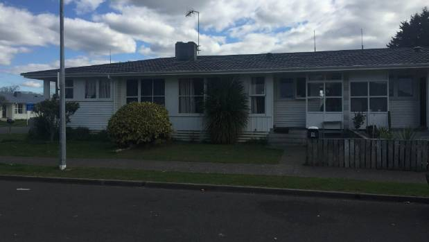 The house in Cottrell Cescent, Onekawa, Napier, where Maihi-Carroll was stabbed to death.