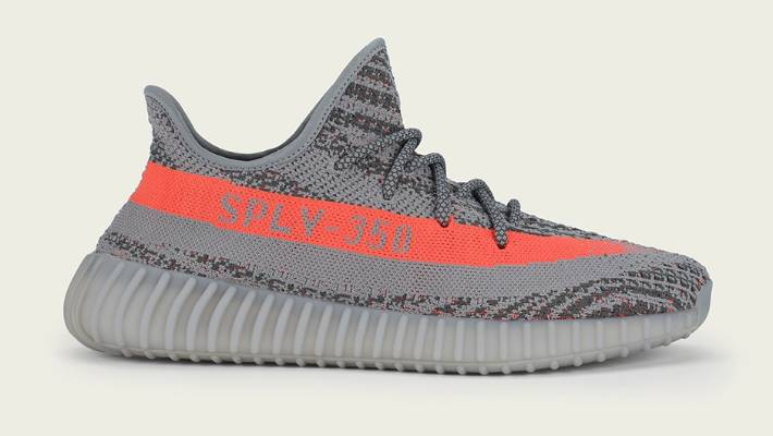 The coveted new Adidas Yeezy Boost 350 V2 sneakers.