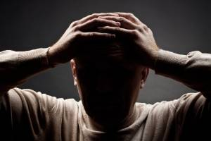 Stress from trying to cope with a difficult birth has left a father with ongoing problems with depression.