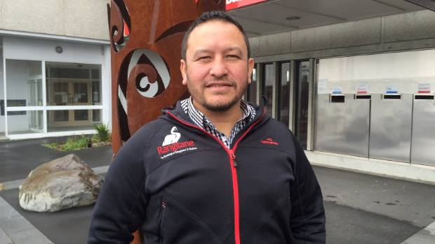 Rangitane communications advisor Keelan Walker outside Rangitane House in Blenheim.