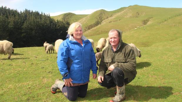 Ian and Janet Woodhouse farm 1001ha in two blocks near Eketahuna.