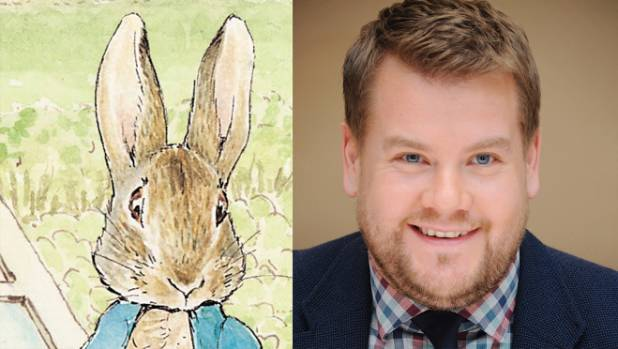 Peter Rabbit Coming To Big Screen James Corden In Voice