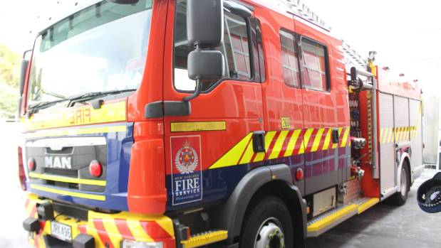 The fire service were called to a gas leak in Auckland on Wednesday afternoon
