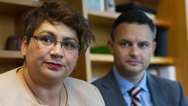 Green Party co-leaders Metiria Turei and James Shaw have a different political party with different policies. If they ...