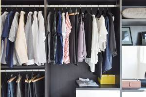 Less is more when it comes to the ultimate closet.