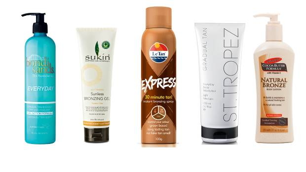 Some of the best tans: Bondi Sands Everyday, $23. Sukin Sunless Bronzing Gel, $24.50, Le Tan Express Tanning Spray, $23. ...