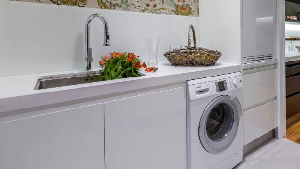 It might seem odd to clean the washing machine, but it's worth doing every few months.