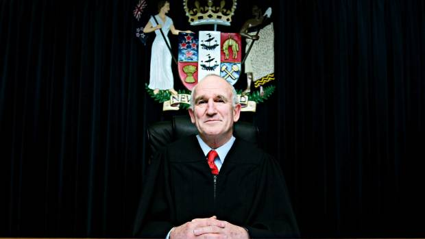 New Plymouth District Court Judge Chris Sygrove is presiding over a trial involving allegations of indecent assault.