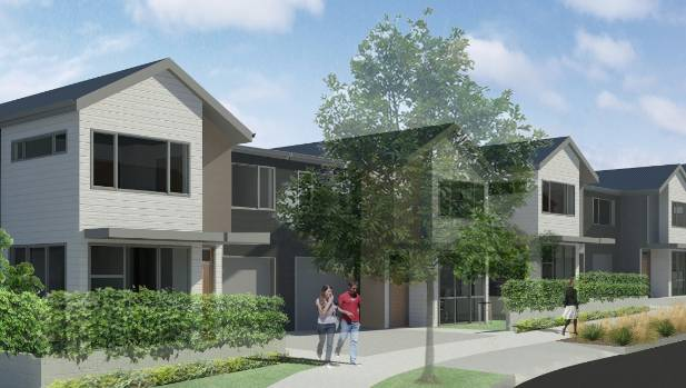 Auckland must build or land values will fall bank says for Townhouse construction cost