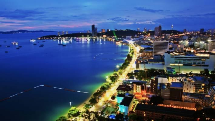5bc0955ca818 Pattaya s skyline at night.