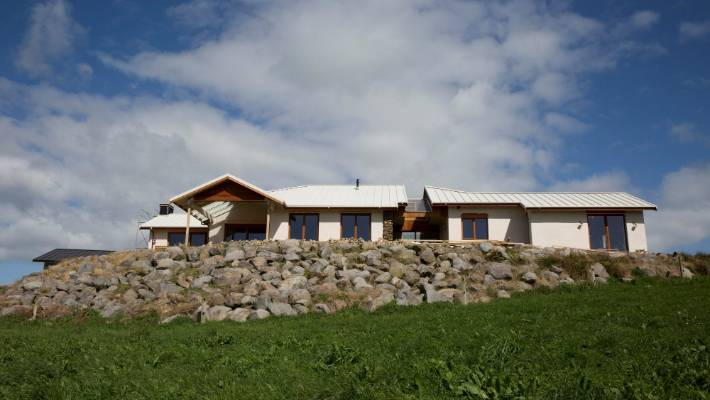 The hemp house in Taranaki is the second project to feature in the second series of TV3's Grand Designs NZ.