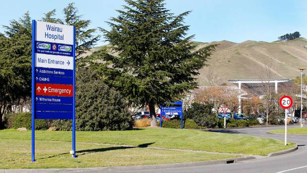 Donella Knox and Ruby were turned away from the emergency department at Wairau Hospital in Blenheim.