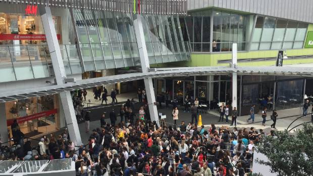 The crowds turned out when the new H&M in Sylvia Park, Auckland, opened in October 16 (file pic).