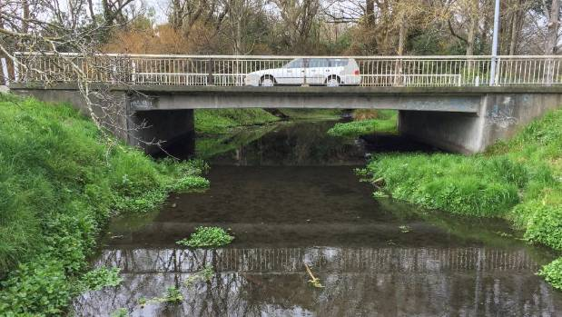 The Curletts Rd stream has the worst water quality in Christchurch.