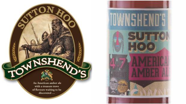 Townshend's old label (left) was replaced with a new version to stand out on shelves.