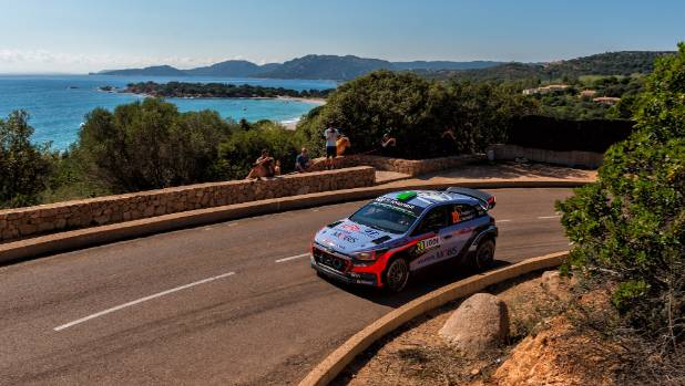 The roads WRC drivers will face on the French island of Corsica are very similar to those the Kiwi star will encounter ...