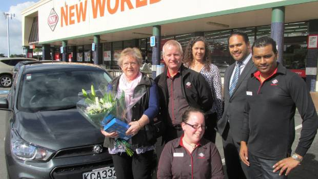 A Single Swipe Wins Sheryl Moroney A New Car From New