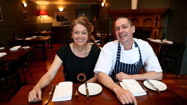 Jacob Brown runs Wellington's highly rated larder restaurant with his wife Sarah Bullock.