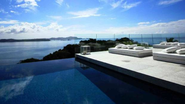 We think Justin will feel at home at the luxury Eagles Nest Lodge in the Bay of Islands.
