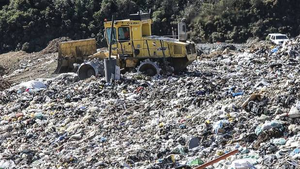 More than 8800 tonnes of plastic is sent to Wellington's landfills every year.