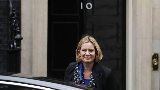 UK home secretary Amber Rudd, who was asked urgent questions in the House of Commons on Monday about the abuse inquiry.