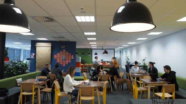 BizDojo now has six offices, including this one in Christchurch