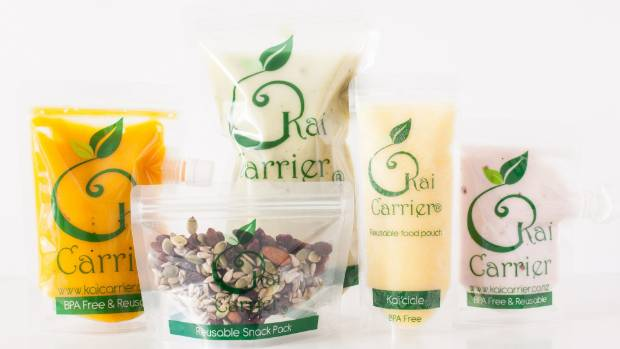 A selection of the Kai Carrier reusable food products.