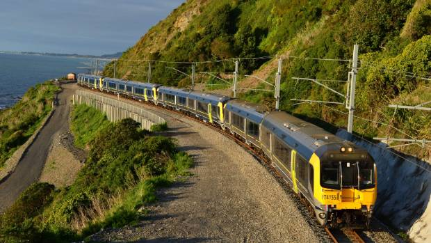 Part of the rates rise has been earmarked to help pay off debt for projects such as the new Matangi train fleet.