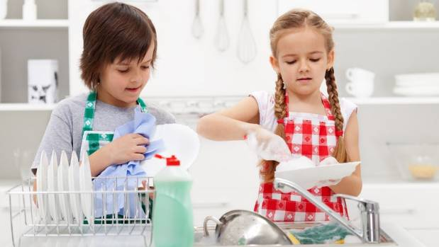 Parenting experts say children should help out around the house because it's the right thing to do, not because they ...