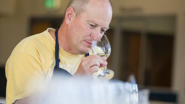 Marlborough Wine Show chief judge Olly Masters.