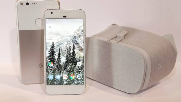 The Pixel phone sold 1.5 million phones in 2017, up from 1 million the year before.