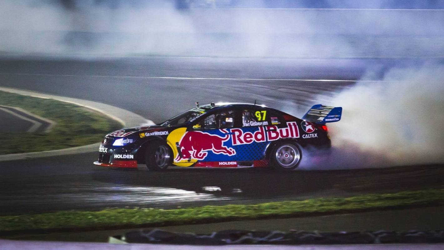 red bull racing create drifting car for shane van. Black Bedroom Furniture Sets. Home Design Ideas