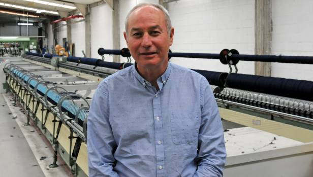 Woolyarns managing director and fur council chairman Neil Mackie