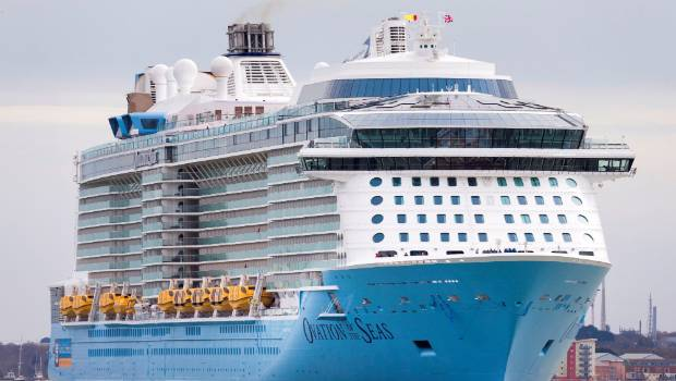 Ovation of the Seas, the biggest cruise ship based in