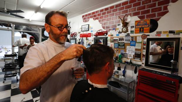 Man Cave Barber Hamilton : Stormy takes nelson s quirkiest barbershop to a brand new