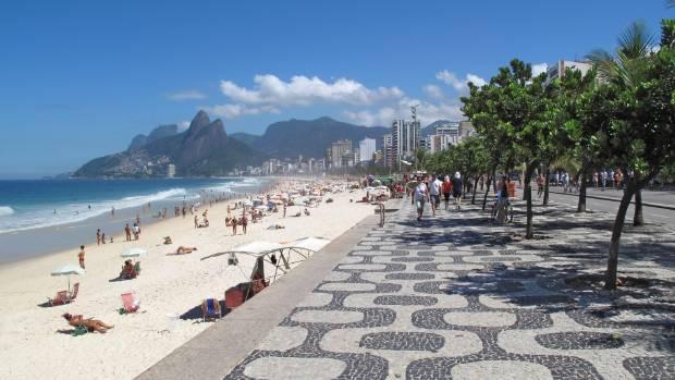 Ipanema Beach in Rio.