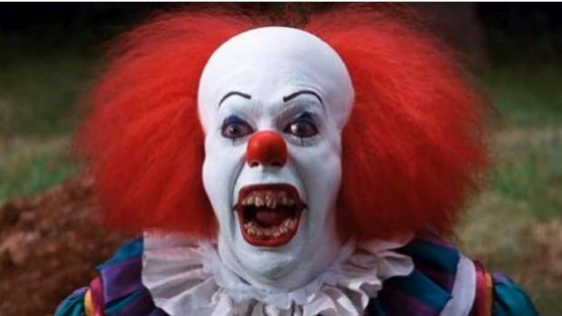 Creepy-clown mania has struck again in Dunedin, after four clown-mask wearing people reportedly threatened to kill a ...