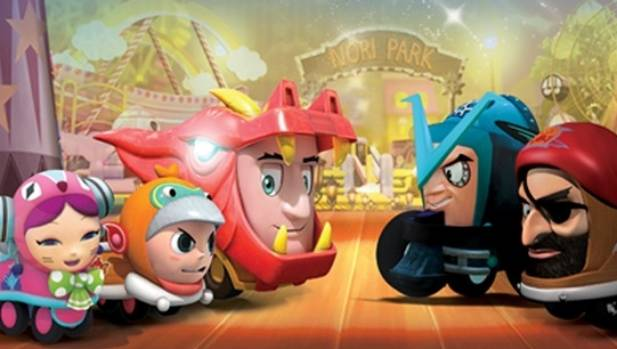 Korean animation series Nori Roller Coaster Boy, which was mixed in Wellington at POW Studios, will be aired in New ...