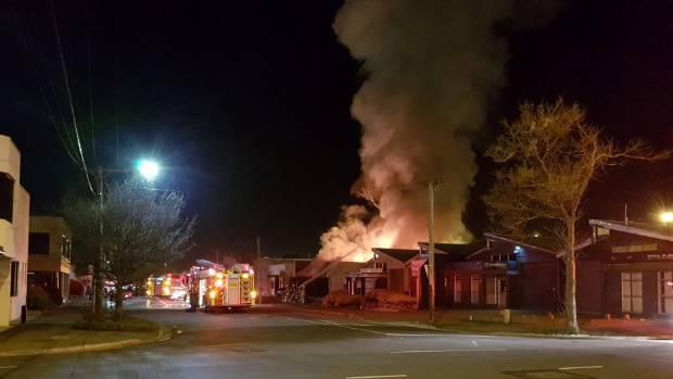 Firefighters investigate house fire in Christchurch   Stuff
