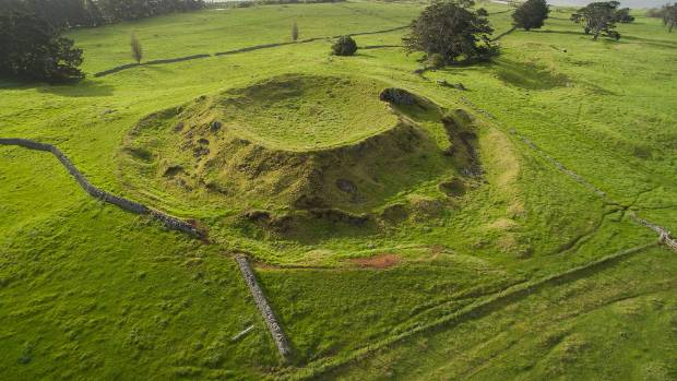 Seen from above, the historic Stonefields area at Ihumatao seems like one of the most pristine parts of Auckland - but ...