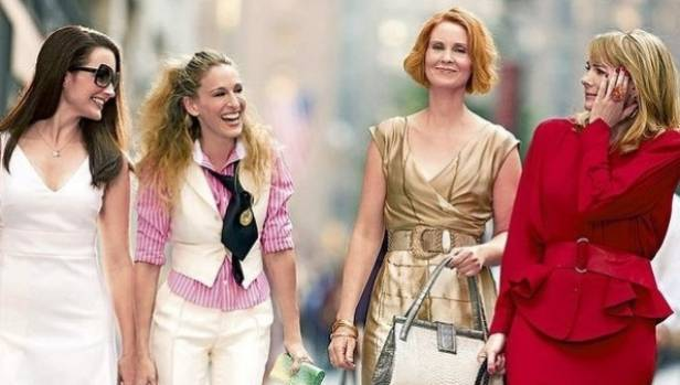 The famous four (from left to right) Charlotte York, Carrie Bradshaw, Miranda Hobbs and Samantha Jones.